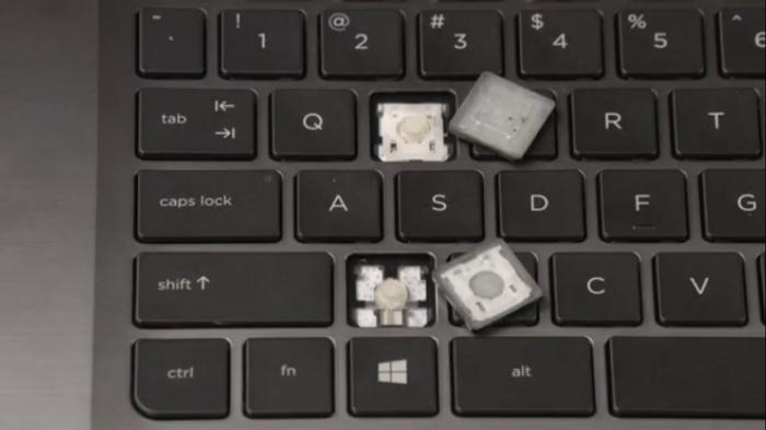 صفحه کلید HP