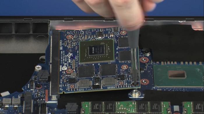 خرابی کارت گرافیک NVidia   تعمیر چیپ گرافیک HP